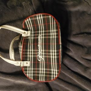 Piperdream black and red travel bag